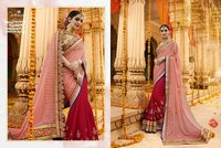 Half N Half Designer Party Wear Saree