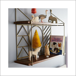 Brass Wall Shelf