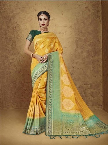 Silk Wedding & Bridal Designer Saree