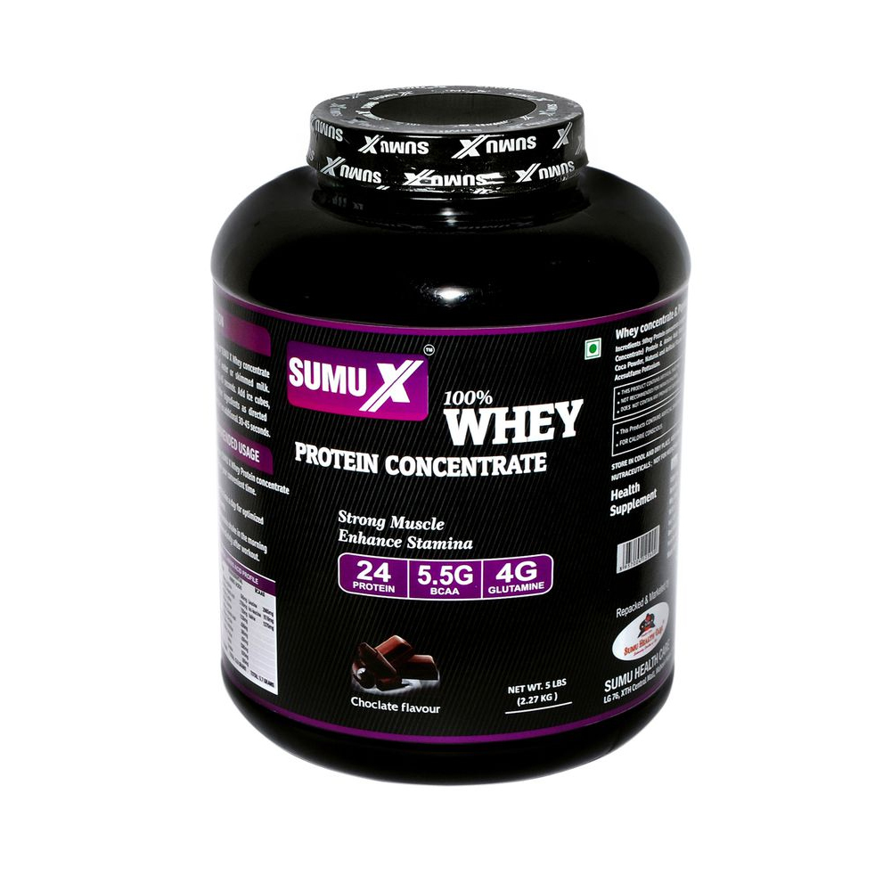 Sumu X Whey Concentrate 5 lbs Chocolate Flavour