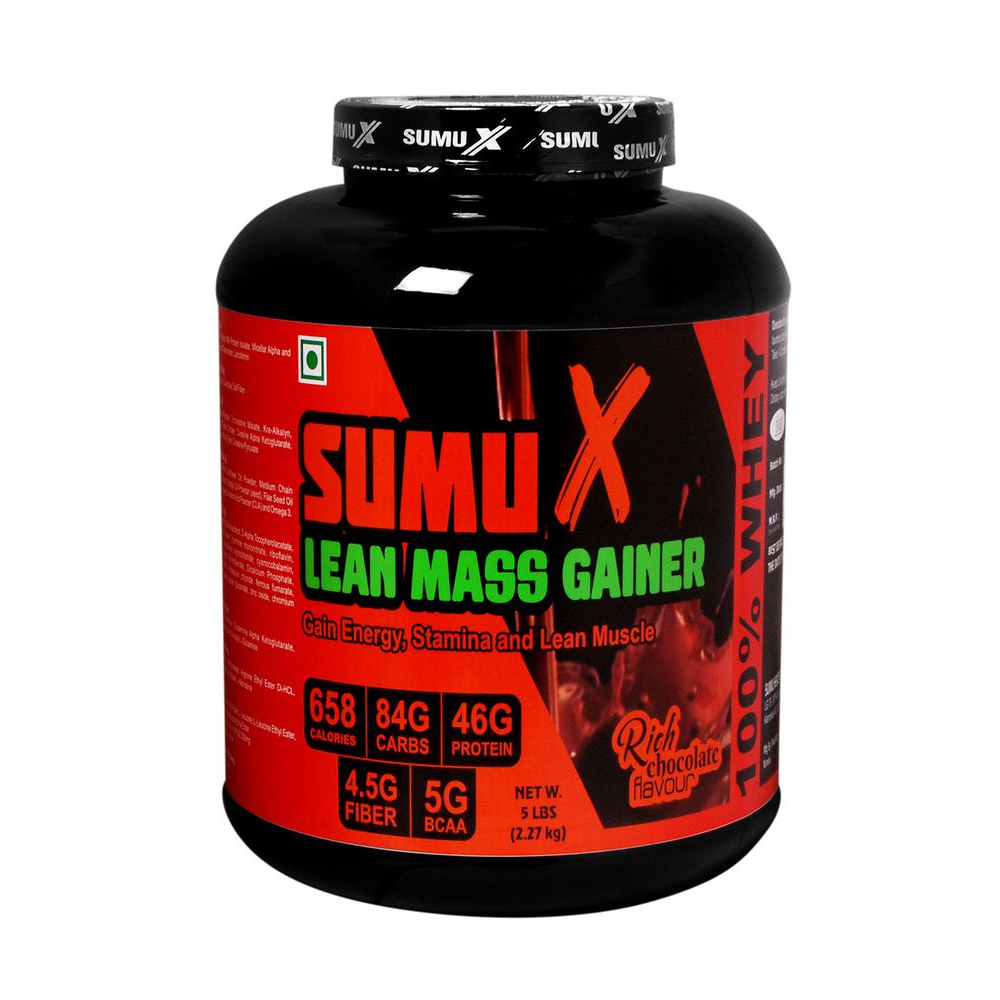 Sumu X Lean Mass Gainer 5 kg