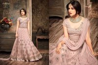 Light Pink Party Wear Fancy Gown