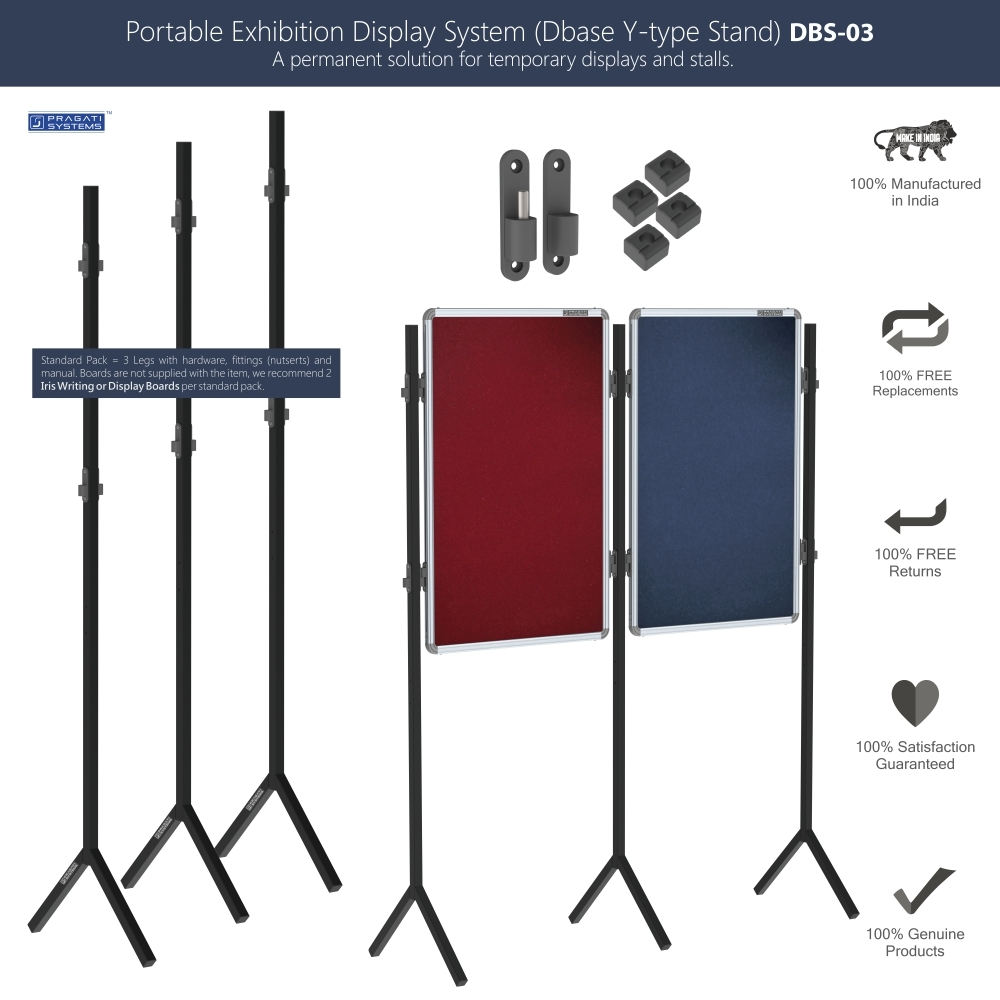 Portable Exhibition Display Stand System DBS-03