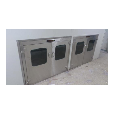 Static Cleanroom Pass Box
