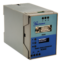 RS232 to RS485 Converter, Model SC04U