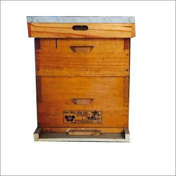 Bee Hive With Super (made of kail wood)