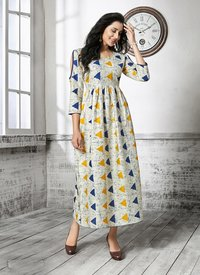Designer Ready-made Anarkali Kurti