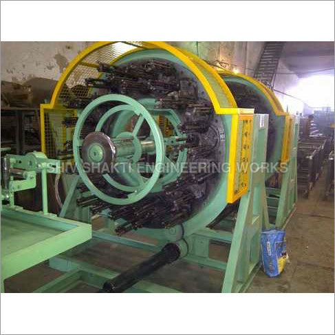 DOUBLE DECK WIRE BRAIDING MACHINE