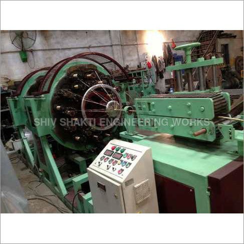 Horizontal Wire Braiding Machine