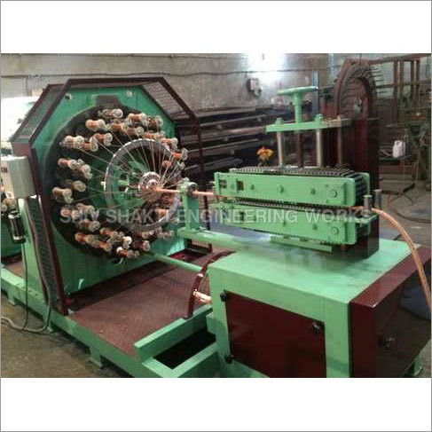 Horizontal Single Deck Textile Braiding Machine
