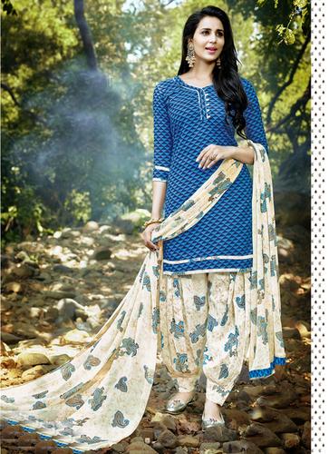 Designer Printed Dress Material