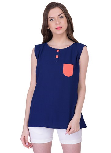 Ladies Pocket Style Tops