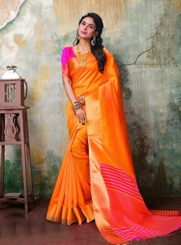 Designer Ghicha Silk Saree