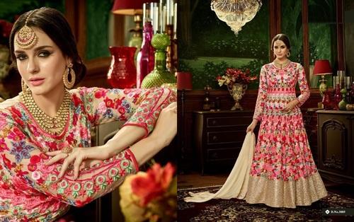 Designer Long Anarkali Suit Suppier