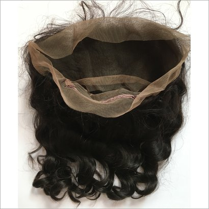360 Lace Frontal With Bundles Hair Grade: Non Remy Hair