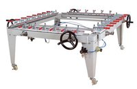 Screen Mesh Stretching machine
