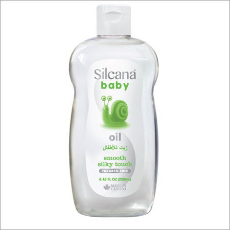 Smooth Silky Touch Baby Oil