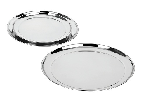 Stainless Steel Compartment Plate