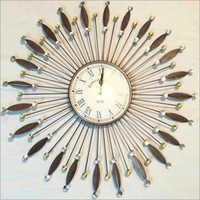 Wooden Artifact Wall Clock