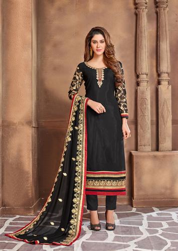 Designer Semi-Stitched Salwar Suits