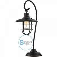 Industrial Iron Lantern Lamp