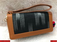 Woman Ikat Clutch Bag