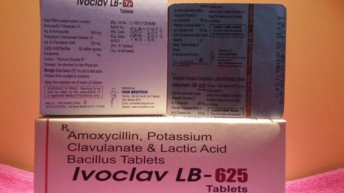 Ivoclav LB 625 Tablet