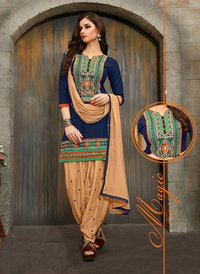 Designer Heavy Work Patiala Suits
