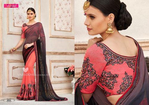 Indian Stylish Designer Georgette Saree