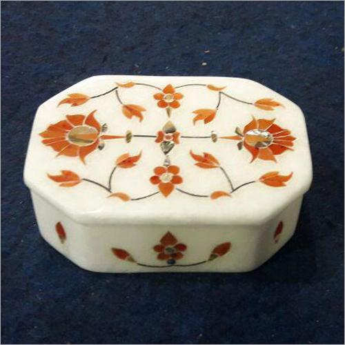 White Soft Stone Box