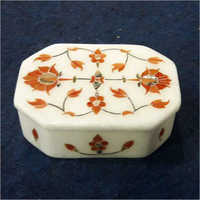 White Soft Stone Box