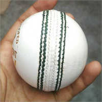 Cricket White Leather Ball