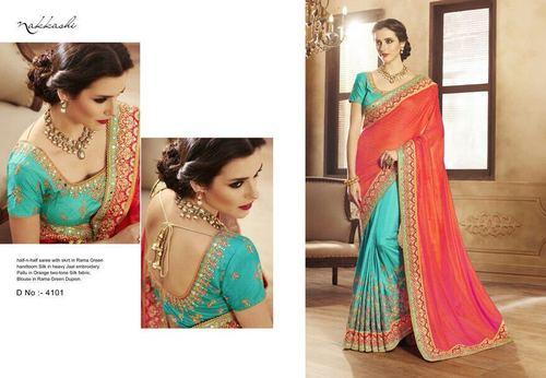 Beautiful Designer Fancy Party Wear Saree