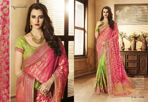 Pure Silk Party Wear Saree