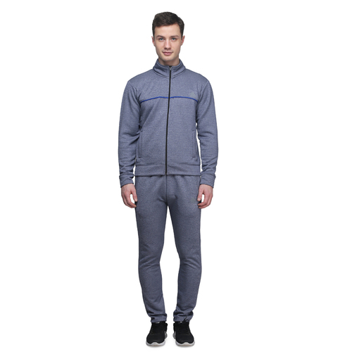Men's Grey & blue Tracksuit