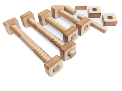 Pressboard Nuts And Threaded Rods