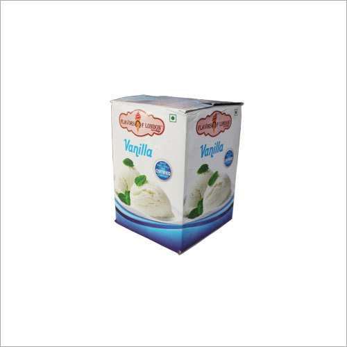 4 Ltr Vanilla Ice Cream Pack