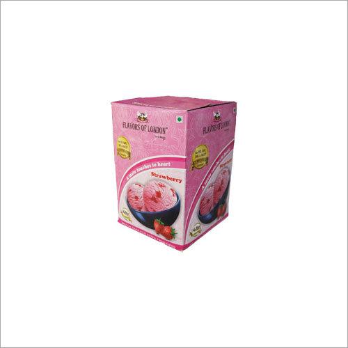 4 Ltr Strawberry Ice Cream Pack
