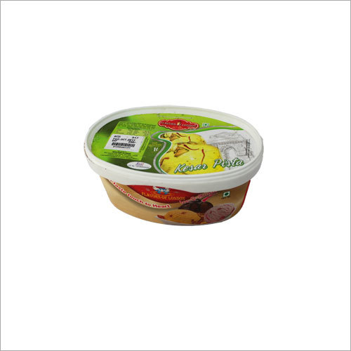 1 Ltr Kesar Pista Ice Cream Pack