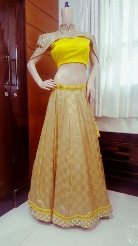 Yellow Designer Lehenga