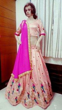 Pink Designer Lehenga