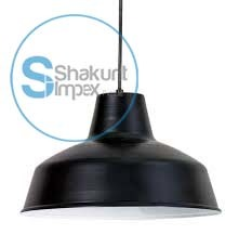 Black Industrial Hanging Lampe