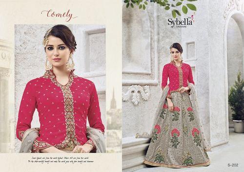 Koti Style Anarkali Salwar Suit