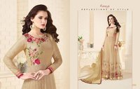 Party Wear Silk Designer Salwar Suit
