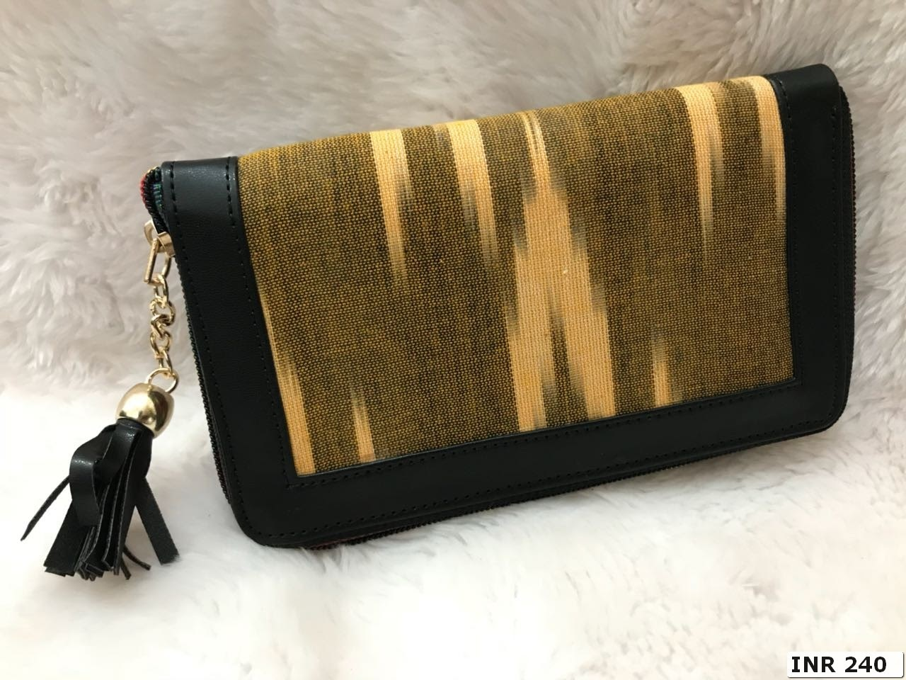 Ladies Ikat Clutchbag
