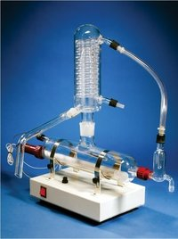 SINGLE STAGE QUARTZ DISTILLATION (HORIZONTAL MODEL