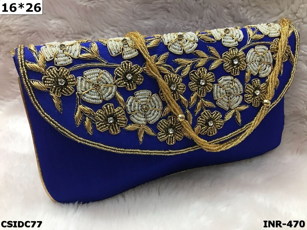 Ethnic Bead Clutches Embroider