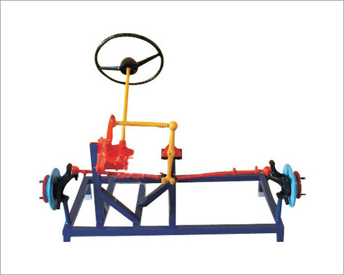 Worm and roller type steering system ( actual working model )