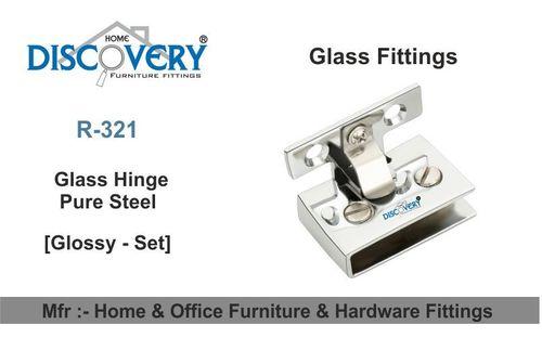 Steel Glass Hinge