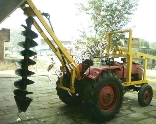Post Hole Digger Machine